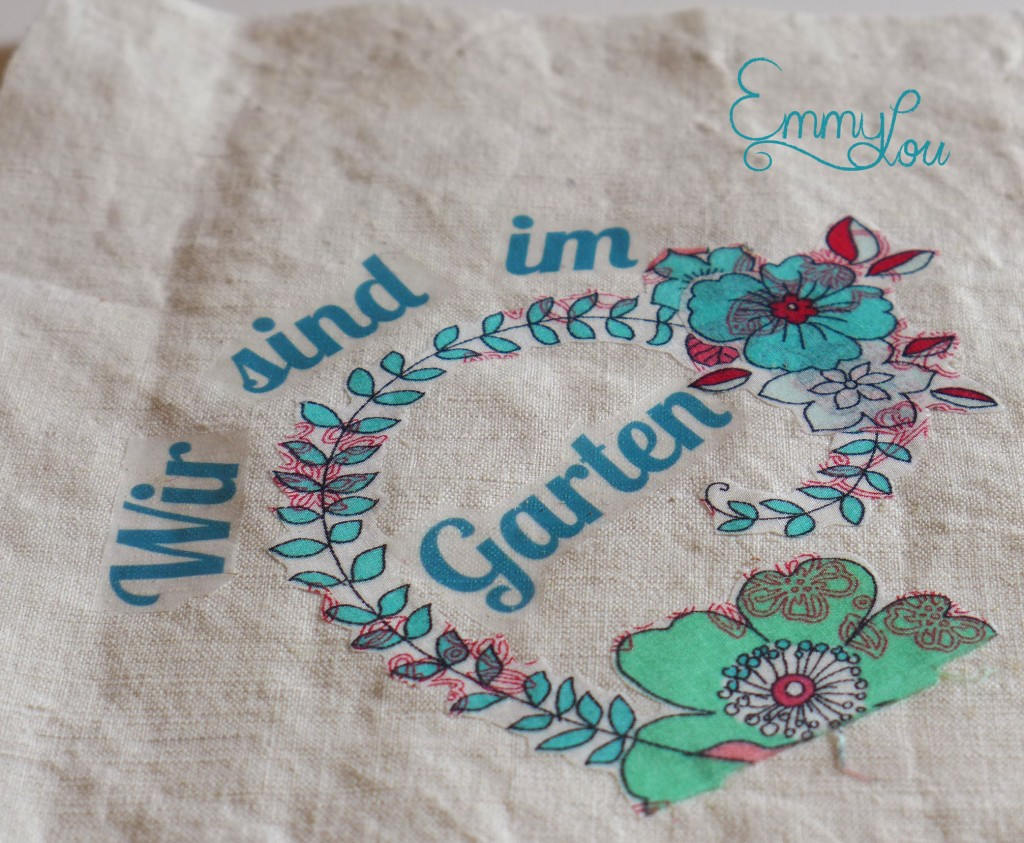 Wir sind im Garten 4