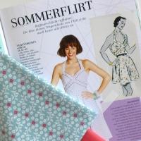Sommerkleid mit Paspelband eine Anleitung