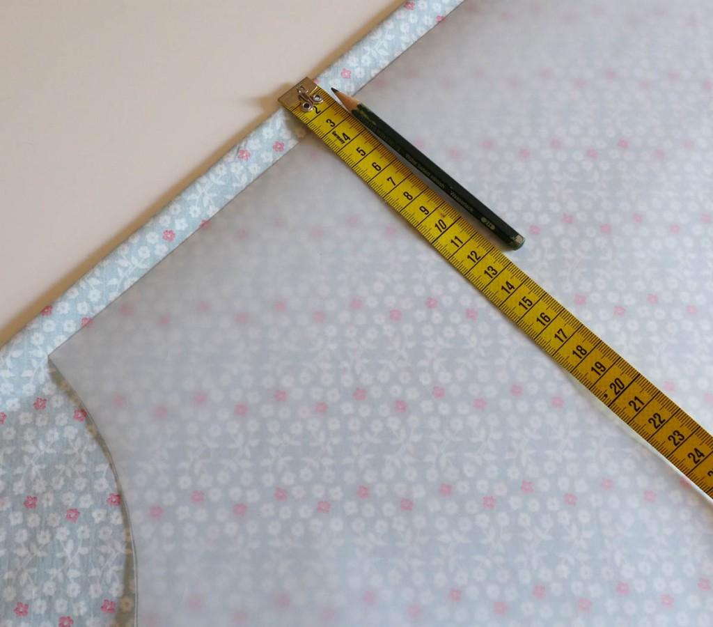 Sommerkleid mit Paspelband - eine Anleitung 2