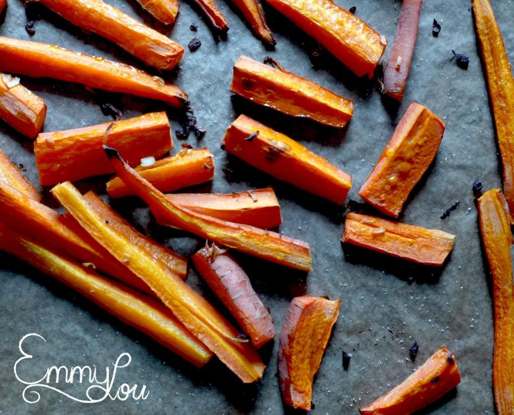 Karottensuppe mit Dillpesto- die Karotten