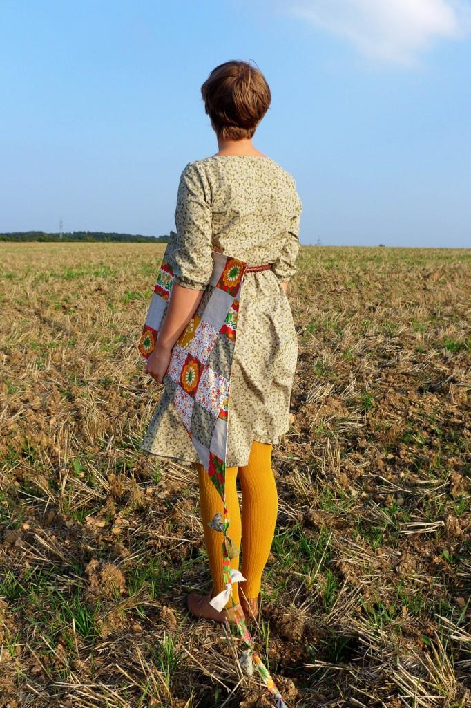 Kleid Mirta Rückseite