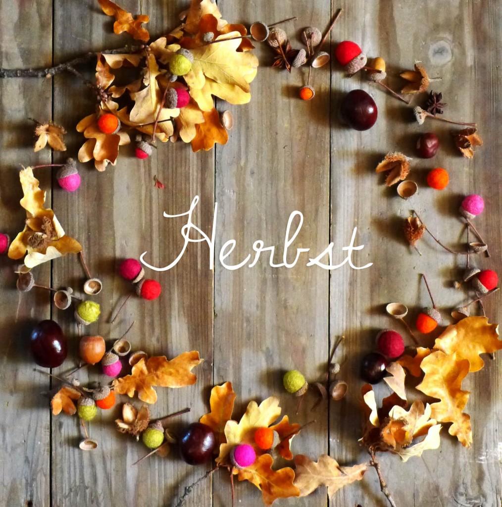 Herbst Styling - Dekoration