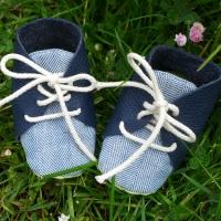 DIY-Anleitung für Babyschuhe
