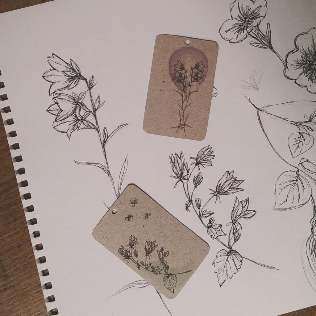 DIY Blumensaat-Herzen Anhänger