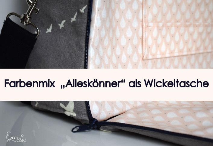 Farbenmix Alleskönner Wickeltasche