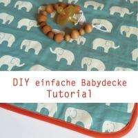 einfache-babydecke Titelbild